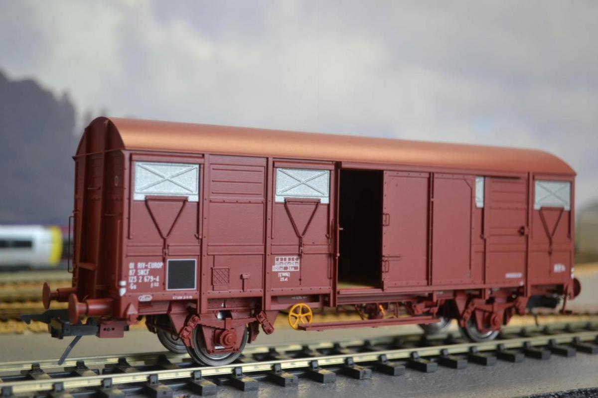 Wagon couvert gs 4 2